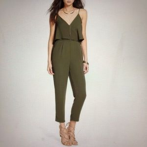 NWT- ASTR Olive Green Jumpsuit
